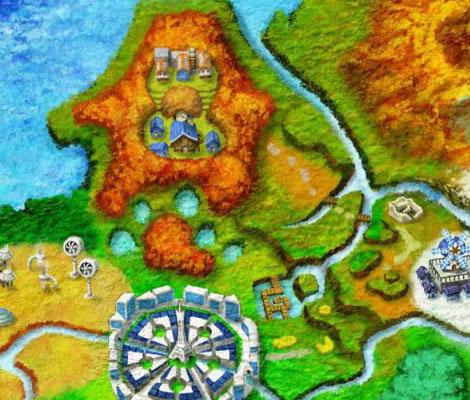 Pokémon XY Mapa