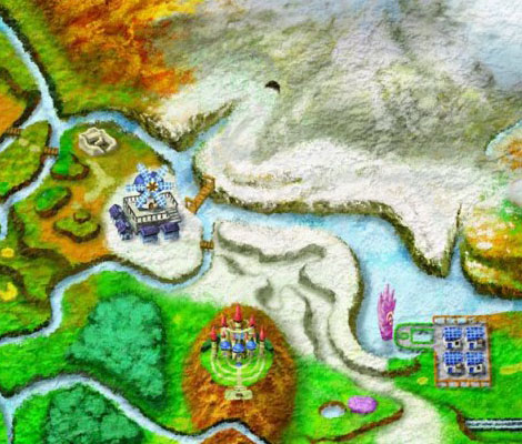 mapa Pokémon xy