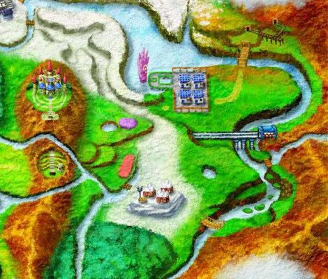 Mapa Región Karos sección