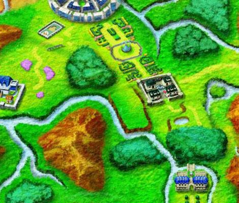 Sección de mapa pokemon xy