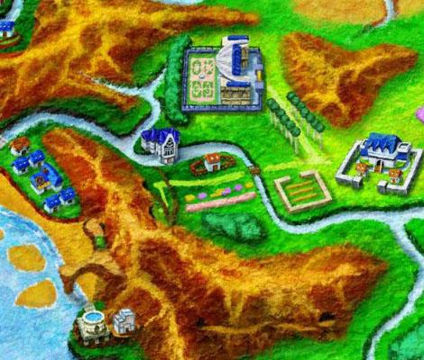 Sección Mapa Pokemon XY