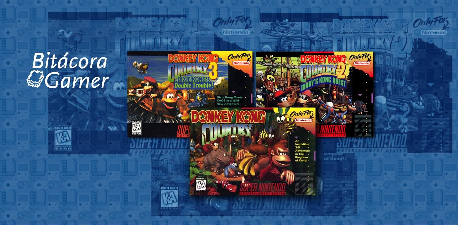 Momentos Gamer Donkey Kong