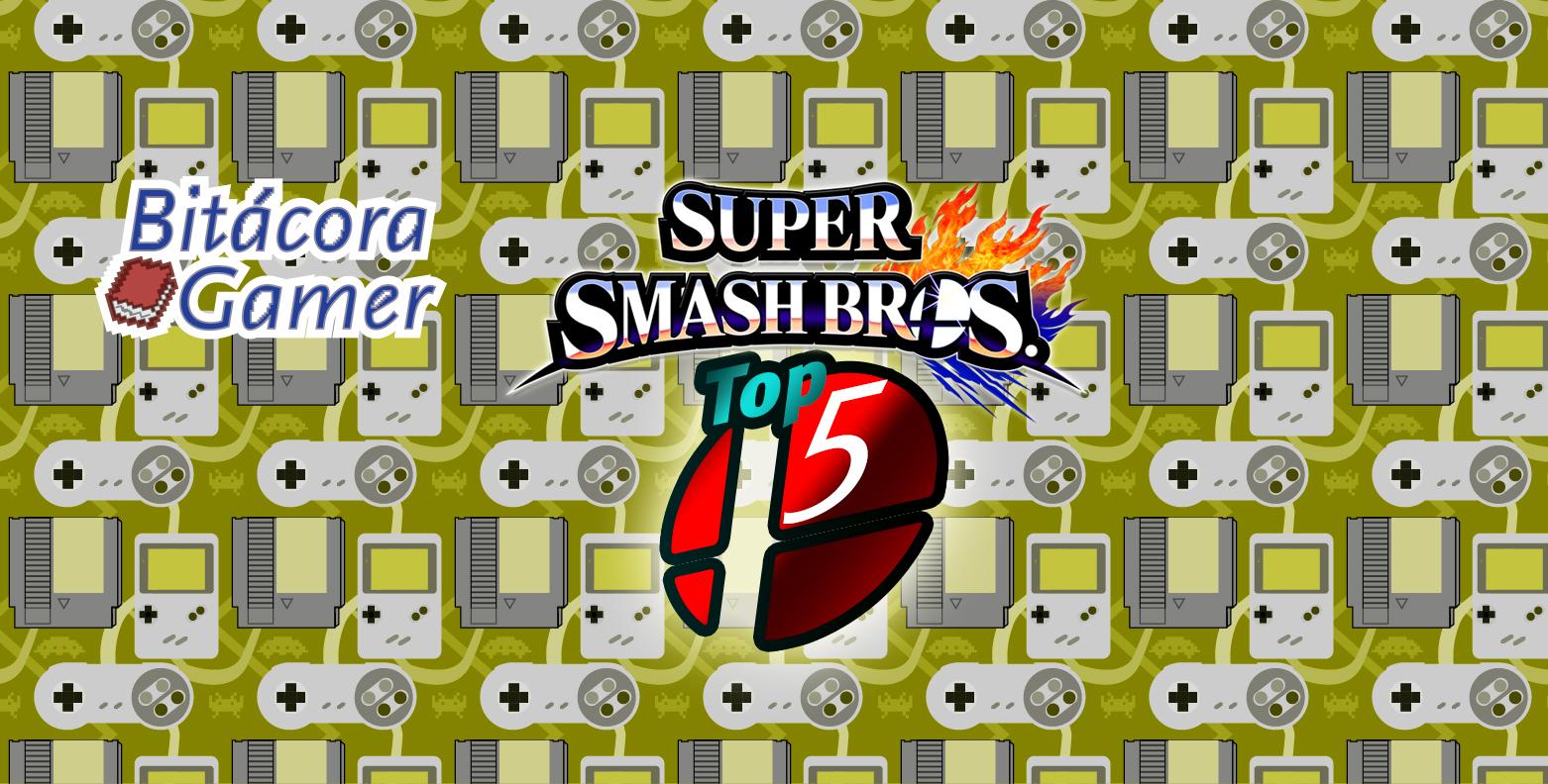 Mis 5 Personajes Favoritos de Smash Bros