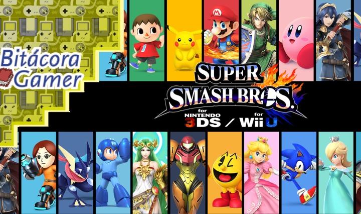 Mis 5 Personajes Favoritos de Super Smash Bros para Wii U y 3DS