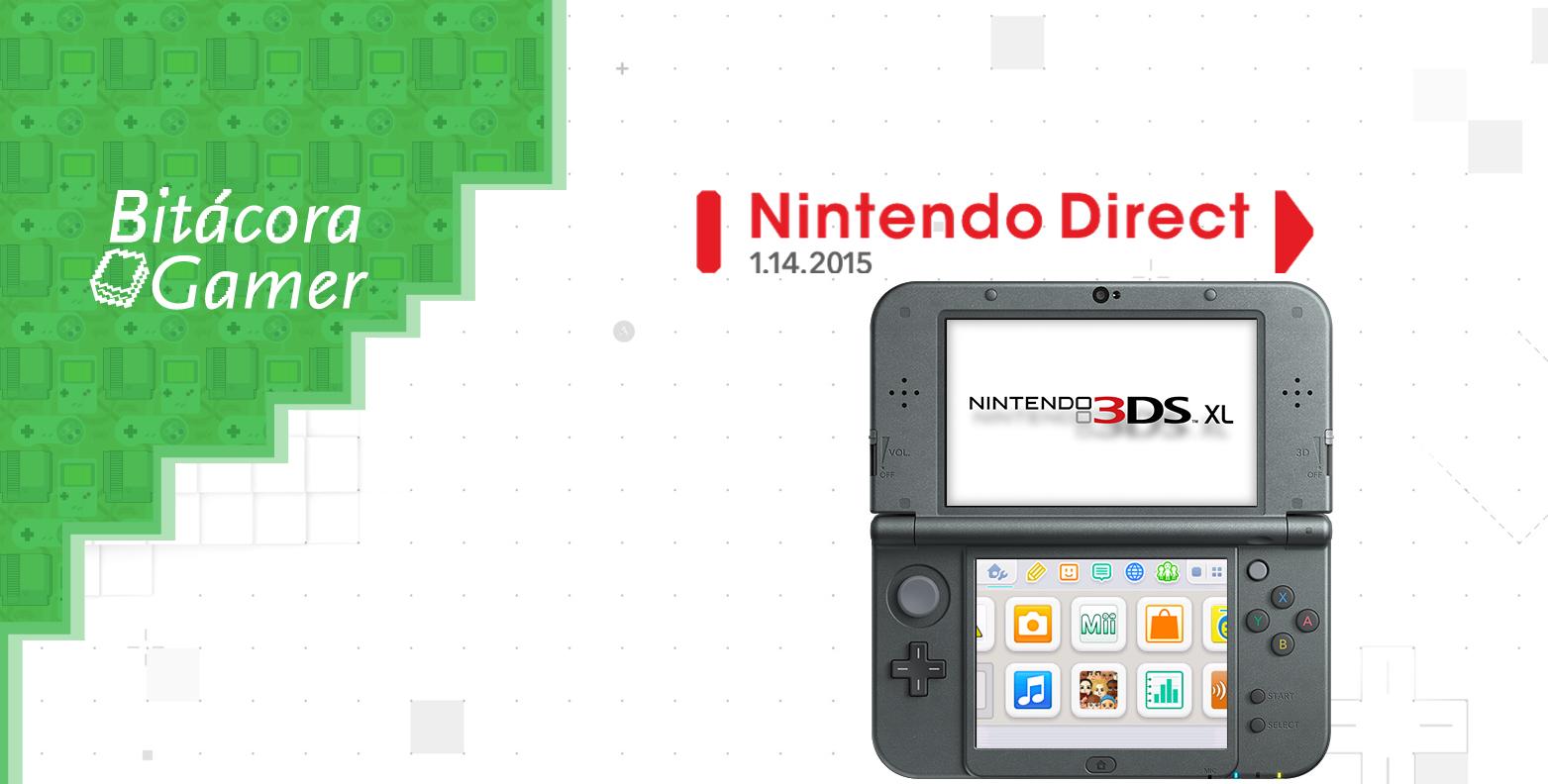 Opinión: Nintendo Direct 01.14.2015