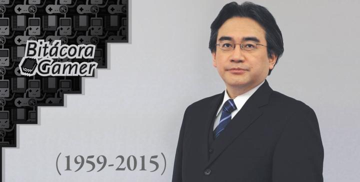 Descanse en Paz Satoru Iwata
