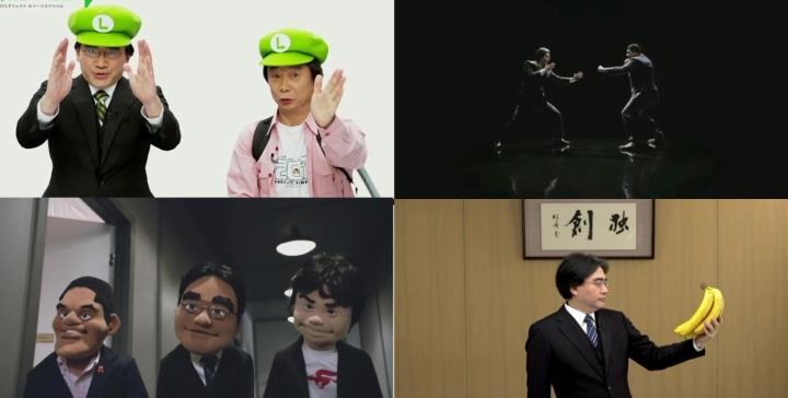 Momentos de Satoru Iwata