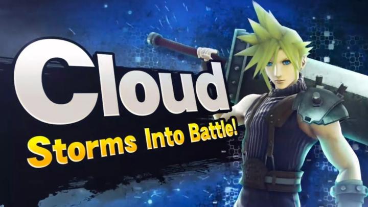 Cloud en Super Smash Bros