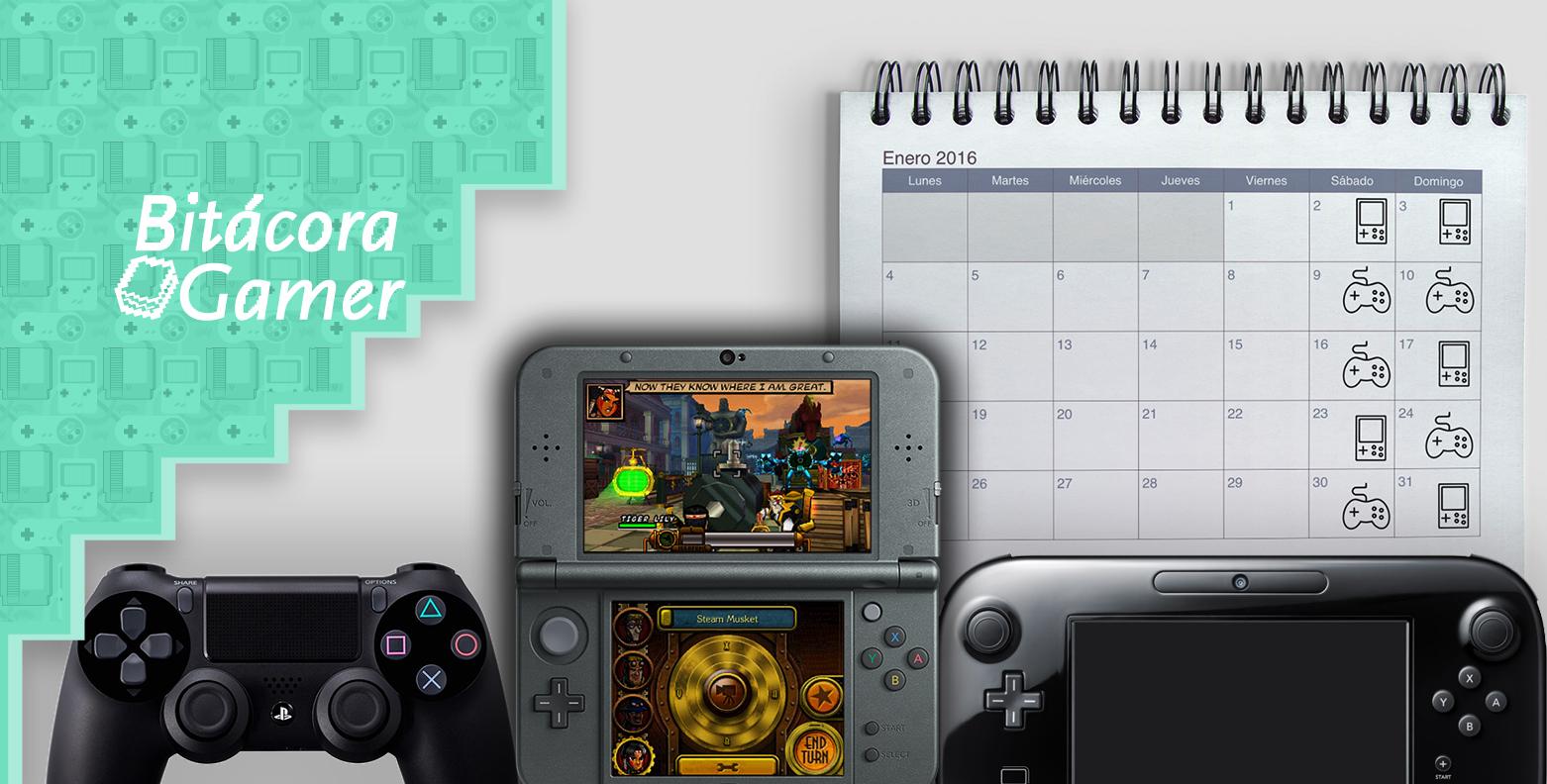 Jugando en Enero | Bitácora Gamer