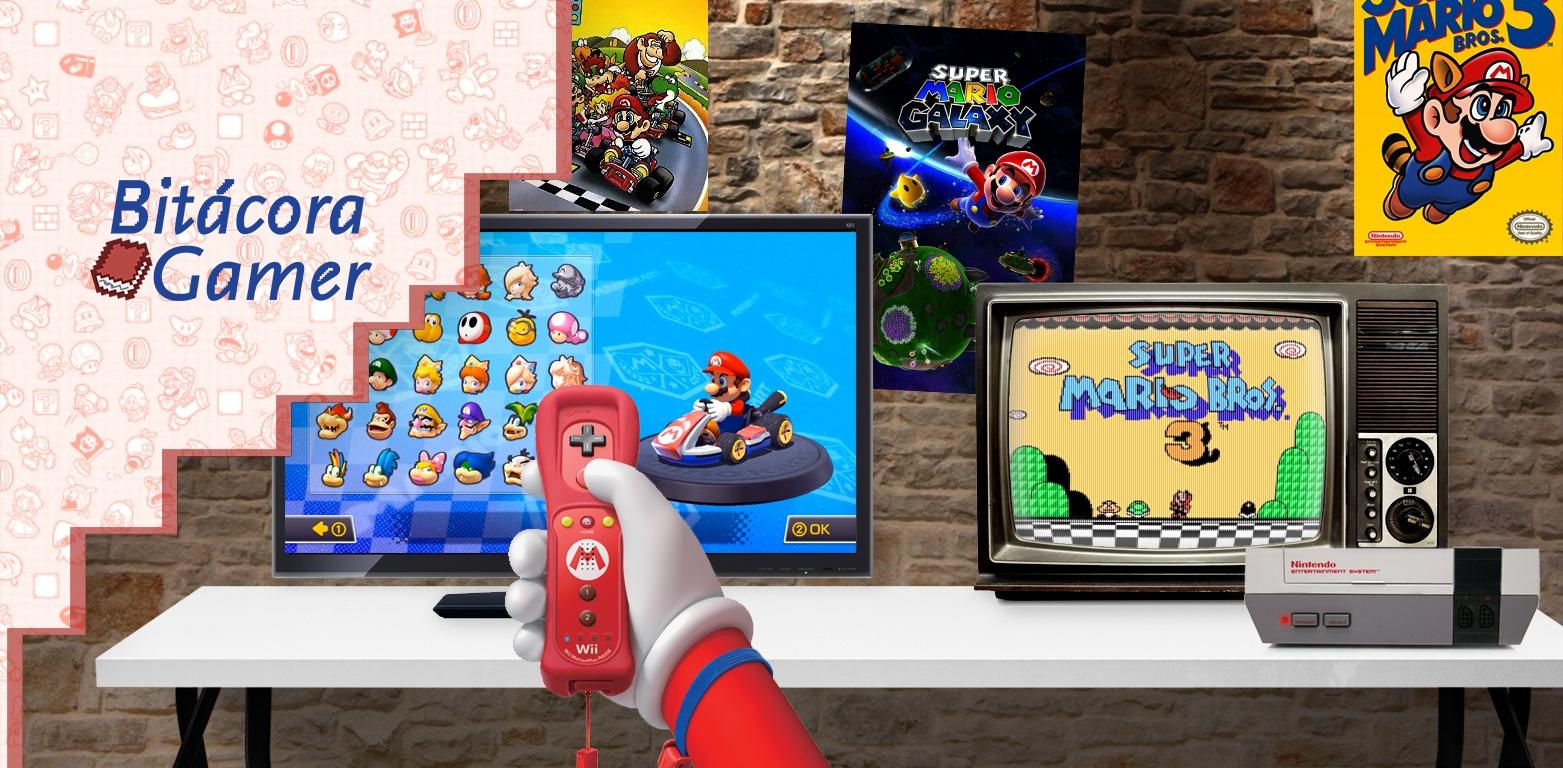 Bitácora Gamer | Los Juegos de Mario en Mi Vida