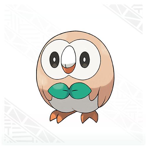 Rowlet | Pokémon Sun & Moon