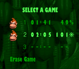 Donkey Kong Country 101%
