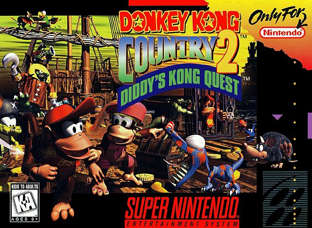 03 Donkey Kong Country 2: Diddy's Kong Quest