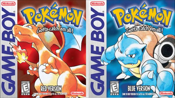 04 Pokémon Red & Blue