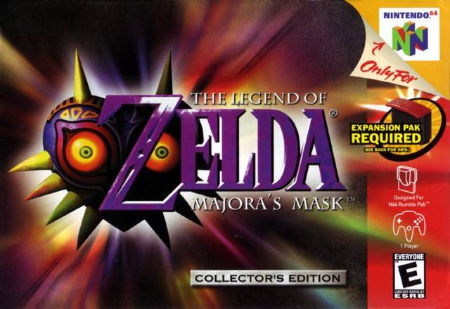 05 The Legend Of Zelda: Majora's Mask
