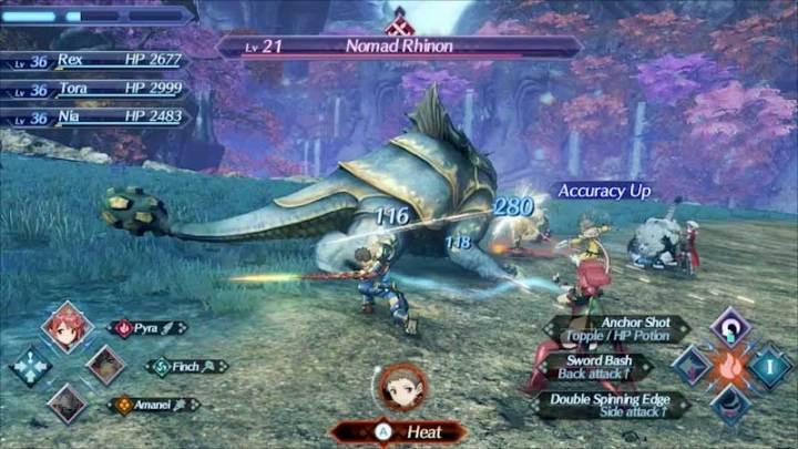 Battle Xenoblade Chronicles 2